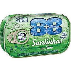 SARDINHAS 88 125G OLEO