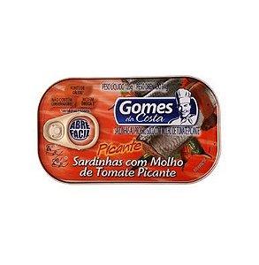 Sardinhas Gomes Costa 125G Tomate Picante