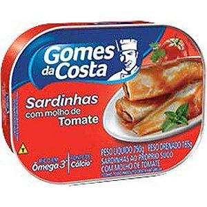 SARDINHAS GOMES COSTA 250G TOMATE