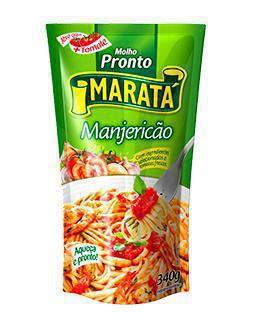 Molho Tomate 340G Marata Manjericao Sache