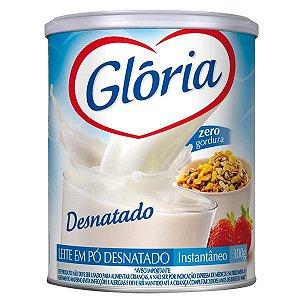 LEITE PO GLORIA 300G DESNATADO LATA
