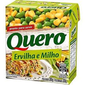 ERVILHA E MILHO VERDE QUERO 200G TP