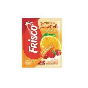 REFRESCO FRISCO 25G  25G LARANJA COM ACEROLA