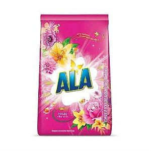 Sabao Po Ala 1Kg Rosas e Flor de Lis (Rosa)