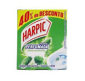 Pedra Sanitária Harpic 25G+40%Gts Pinho Camp