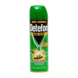 Inseticida Detefon 300Ml Aerosol Acao Total