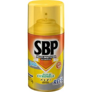 Inseticida Sbp 250Ml Oleo De Cintronela Refil
