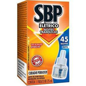 Inseticida Sbp Eletrico 35Ml Refil 45 Noites