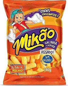 Salgadinho Mikao 140G Galinha Caipira
