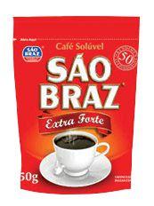CAFE SAO BRAZ SOLUVEL 50G EXTRA FORTE