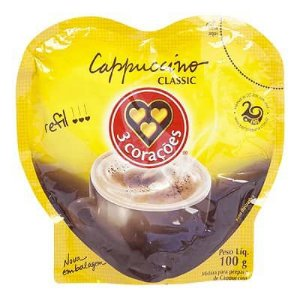 CAPPUCCINO TRES CORACOES CLASSIC 100G RF