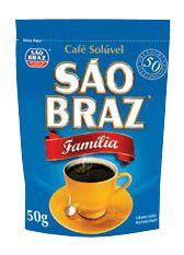 CAFE SAO BRAZ SOLUVEL 50G FAMILIA