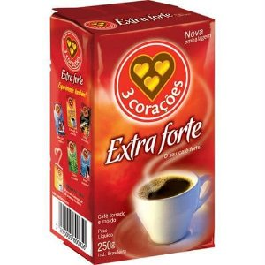 CAFE 3 CORACOES 250G EXTRA FORTE A VACUO