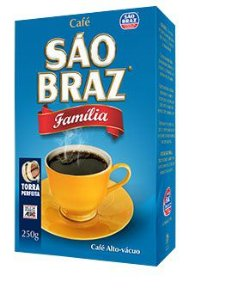 CAFE SAO BRAZ 250G FAMILIA A VACUO