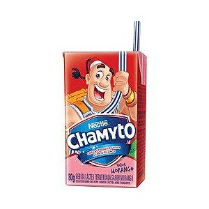 Leite Fermentado Nestle Chamyto 80G Morango