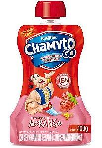 Iogurte Nestle 100G Chamyto Morango
