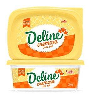 Margarina Deline 250G Com Sal