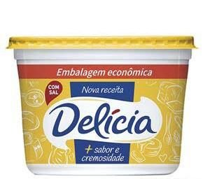 Margarina Delicia 1000G Cremosa