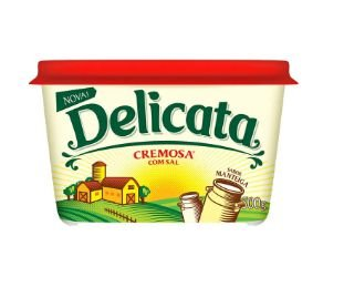 Margarina Delicata 500G Com Sal