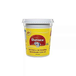MANTEIGA DAVACA 500G C/SAL