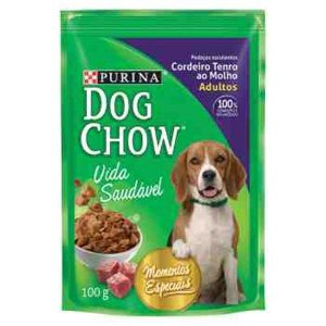 Dog Chow 100G Cordeiro Ao Molho