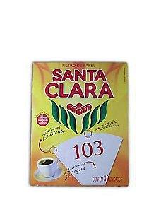 FILTRO PAPEL SANTA CLARA 103 C/30UNDS