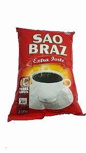 CAFE SAO BRAZ 250G EXTRA FORTE ALMOFADA