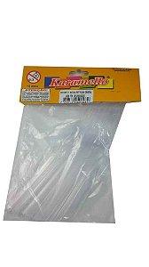 Colher Plastica Refeicao Cristal 30Unidades
