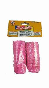 Forminha Papel  Numero 02 Rosa 100 Unidades Karamello