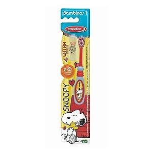 Escova de Dente Condor Bambinos 1 Snoopy
