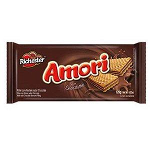 BISCOITO WAFER 100G AMORI CHOCOLATE
