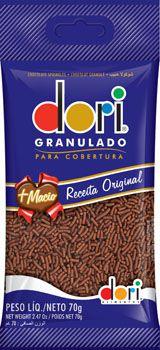 CHOCOLATE GRANULADO DORI 70G TRADICIONAL