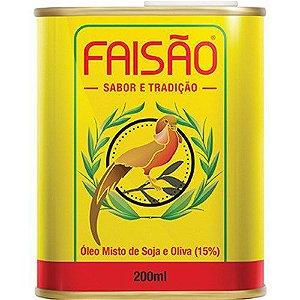 Oleo Misto de Soja e Oliva 200Ml Faisão