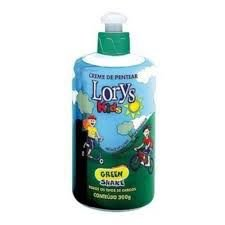 CREME PENTEAR LORYS KIDS 300ML GREEN