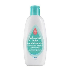 CONDICIONADOR JOHNSONS BABY 200ML HIDRATACAO INTENSIVA