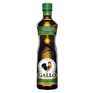 Azeite de Oliva 500Ml Gallo Extra Virgem Vidro
