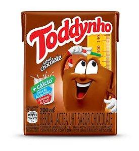 ACHOCOLATADO LIQ TODDYNHO 200ML CHOCOLATE