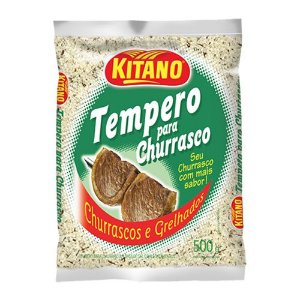 TEMPERO P/CHURRASCO KITANO 500G