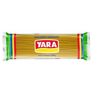 MACAR YARA 500G ESPAGUETE COMUM N.0