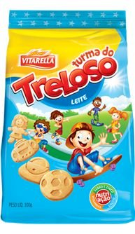 BISCOITO VITARELLA 100G TRELOSO LEITE