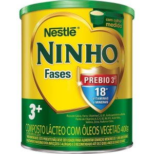 LEITE PO NINHO 400G PREBIO FASES 3+