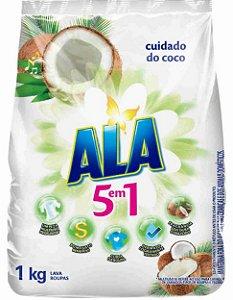 Sabao Po Ala 5 em 1 1kg cuidado do coco