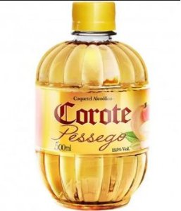 COQUETEL COROTE 500ML PESSEGO