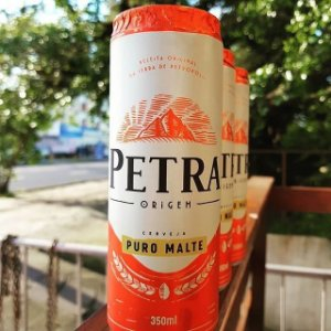 CERVEJA PETRA PURO MALTE 350ML LT