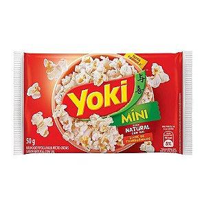 Pipoca Para Micro Yoki 50G Natural Com Sal