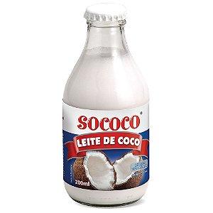 LEITE DE COCO 200ML SOCOCO RTC