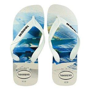Sandália Havaiana Surf FC 45/46 Branco Agua