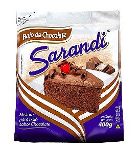 MISTURA DE BOLO SARANDI 400G CHOCOLATE