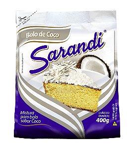 MISTURA DE BOLO SARANDI 400G COCO