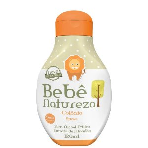COLONIA BEBE NATUREZA 120ML SUAVE